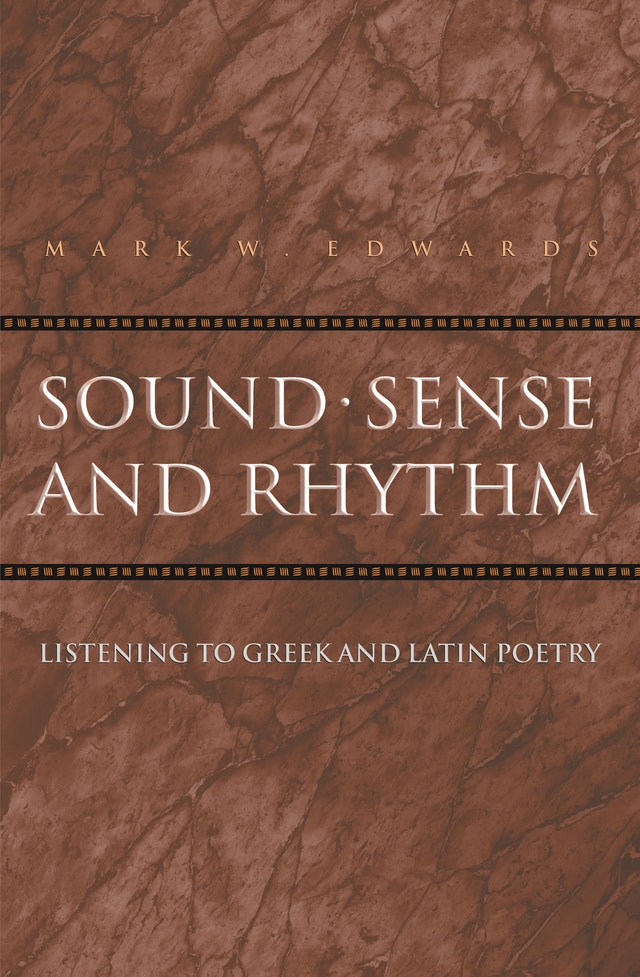 Sound, Sense, and Rhythm
