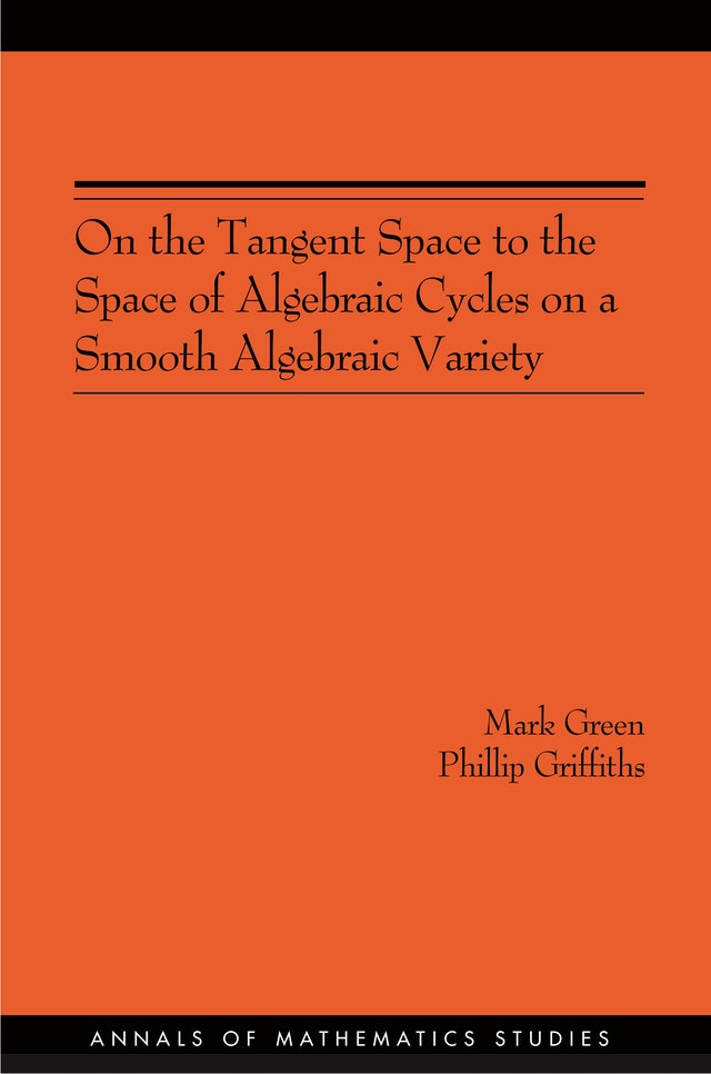 On the Tangent Space to the Space of Algebraic Cycles on a Smooth Algebraic Variety. (AM-157)