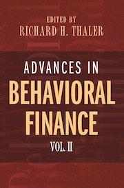 Advances in Behavioral Finance, Volume II