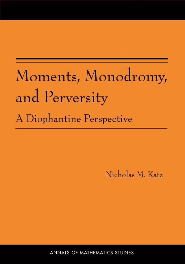 Moments, Monodromy, and Perversity. (AM-159)