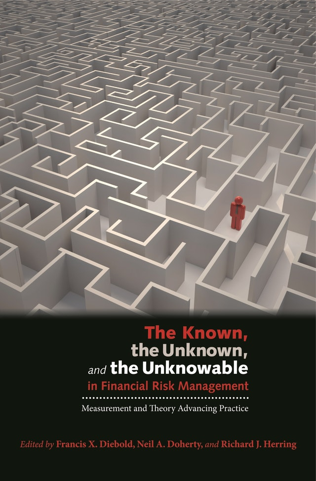 The Known, the Unknown, and the Unknowable in Financial Risk Management