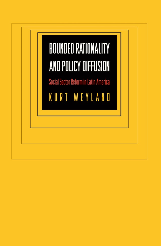 Bounded Rationality and Policy Diffusion