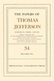 The Papers of Thomas Jefferson, Volume 34