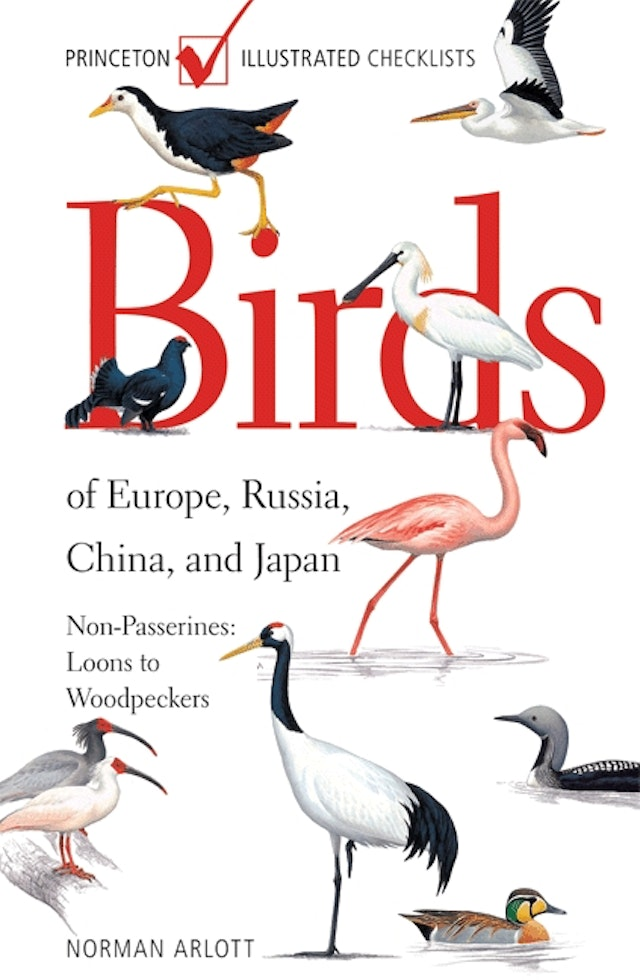 Birds of Europe, Russia, China, and Japan