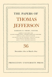 The Papers of Thomas Jefferson, Volume 36