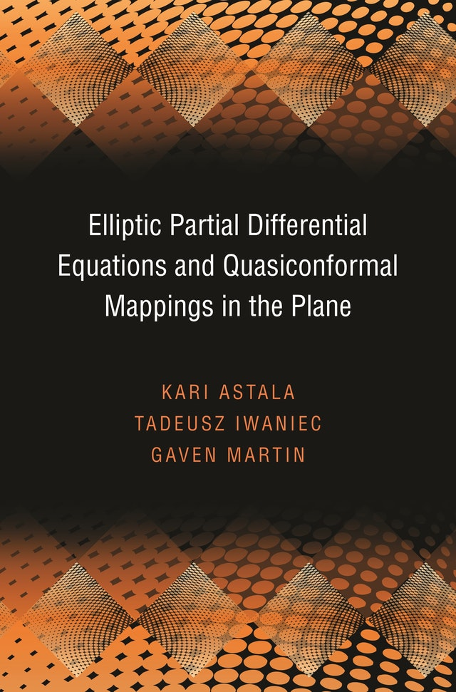 Elliptic Partial Differential Equations and Quasiconformal Mappings in the Plane (PMS-48)