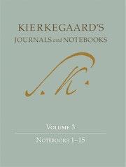 Kierkegaard's Journals and Notebooks, Volume 3