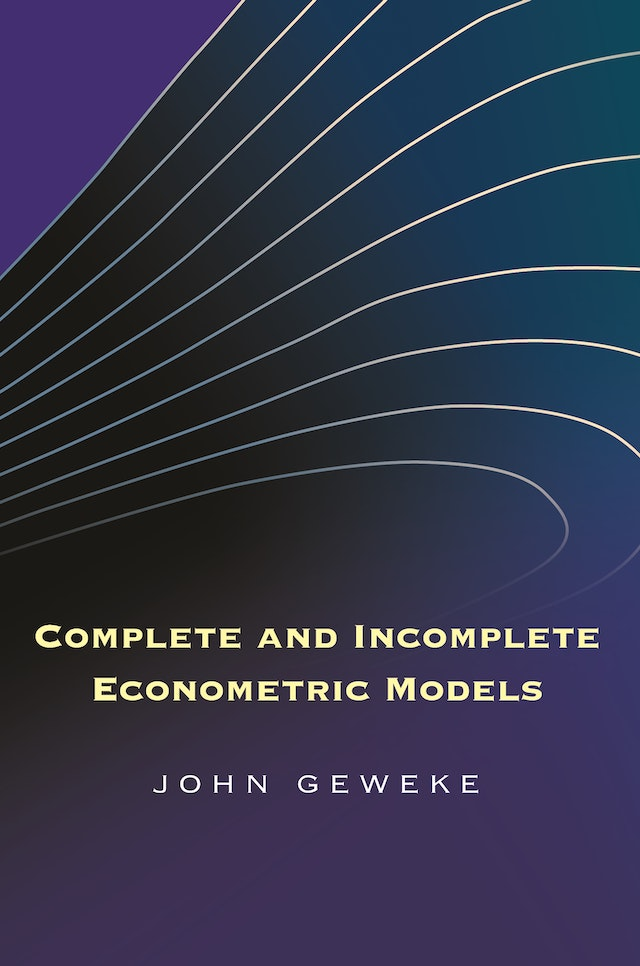 Complete and Incomplete Econometric Models