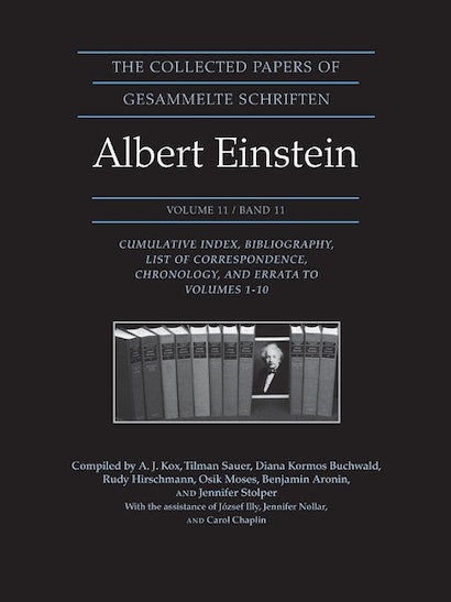The Collected Papers of Albert Einstein, Volume 11