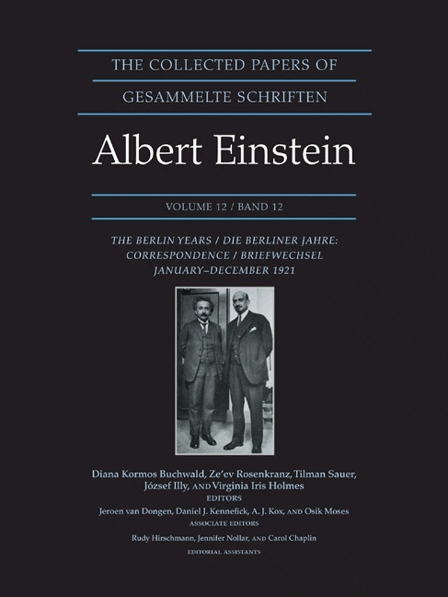 The Collected Papers of Albert Einstein, Volume 12