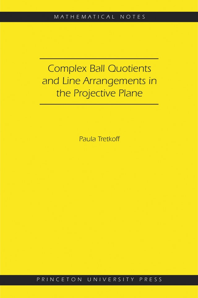 Complex Ball Quotients and Line Arrangements in the Projective Plane (MN-51)