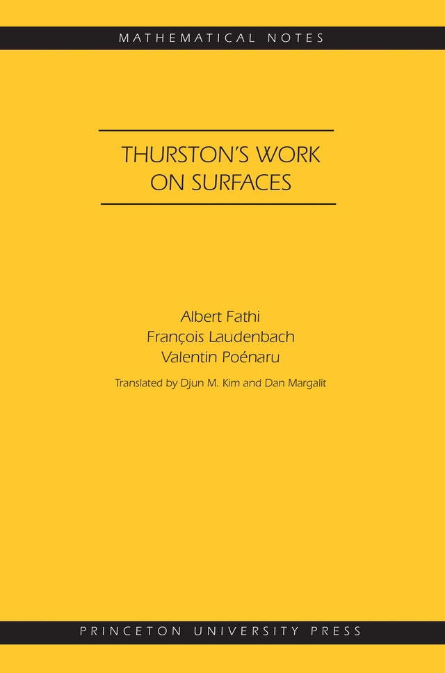 Thurston's Work on Surfaces (MN-48)
