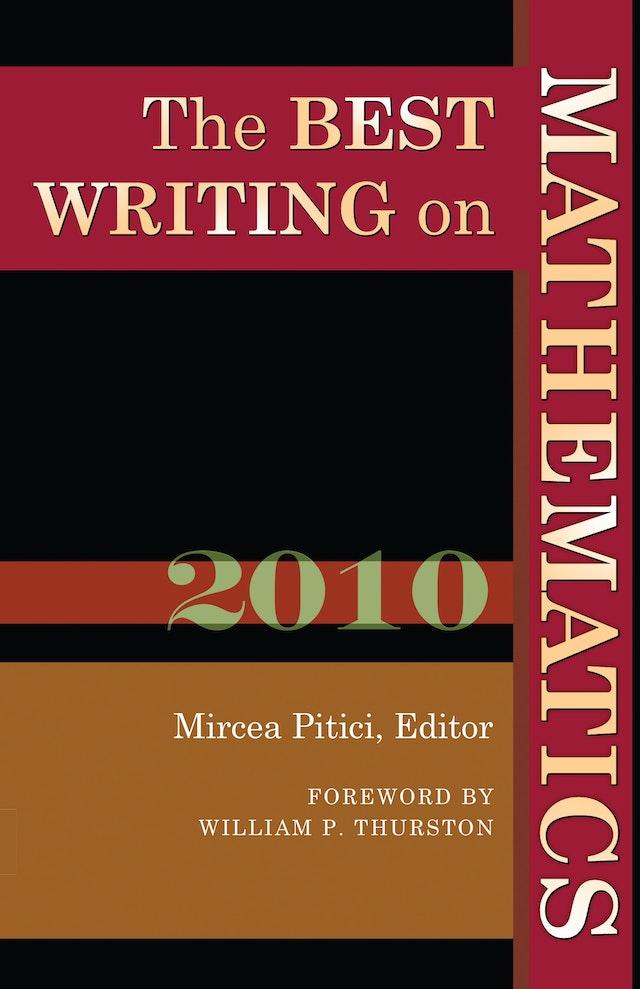 The Best Writing on Mathematics 2010