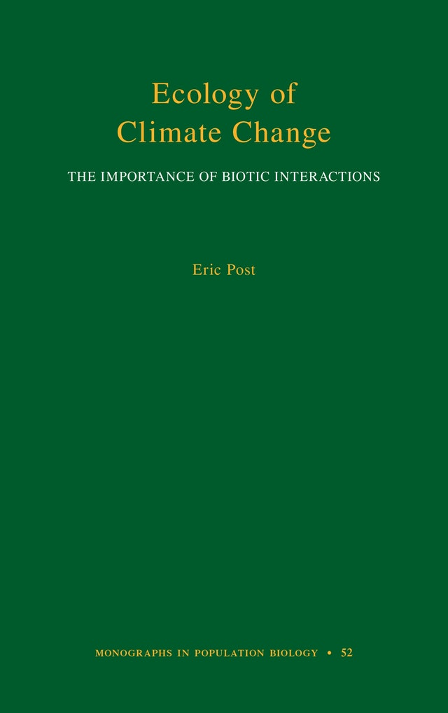 Ecology of Climate Change