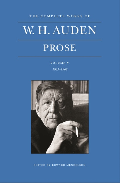 The Complete Works of W. H. Auden, Volume V