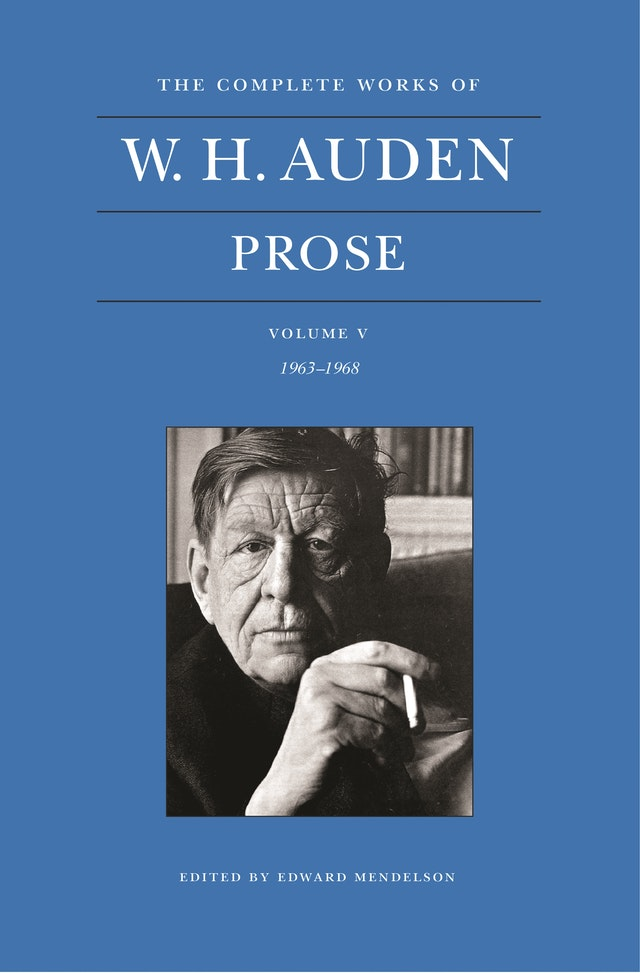 The Complete Works of W. H. Auden, Volume V