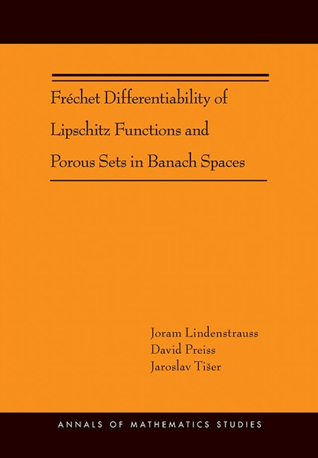Fréchet Differentiability of Lipschitz Functions and Porous Sets in Banach Spaces (AM-179)