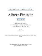 The Collected Papers of Albert Einstein, Volume 13