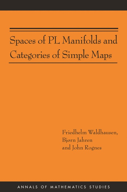 Spaces of PL Manifolds and Categories of Simple Maps (AM-186)