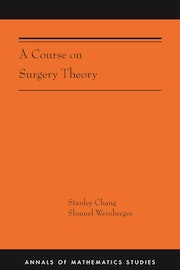 A Course on Surgery Theory