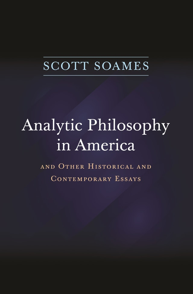 Analytic Philosophy in America