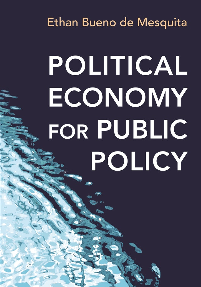 Political Economy for Public Policy