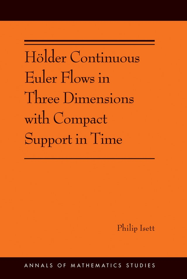 Hölder Continuous Euler Flows in Three Dimensions with Compact Support in Time