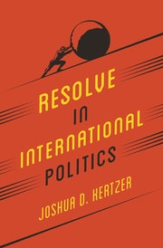 Resolve in International Politics