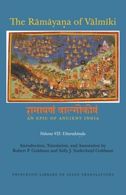 The Rāmāyaṇa of Vālmīki: An Epic of Ancient India, Volume VII