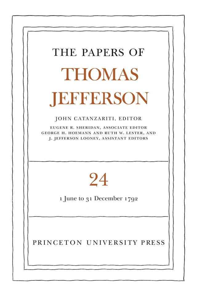 The Papers of Thomas Jefferson, Volume 24