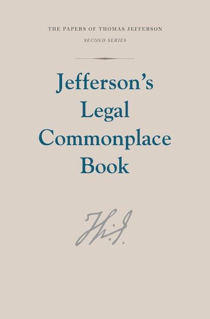 Jefferson's Legal Commonplace Book