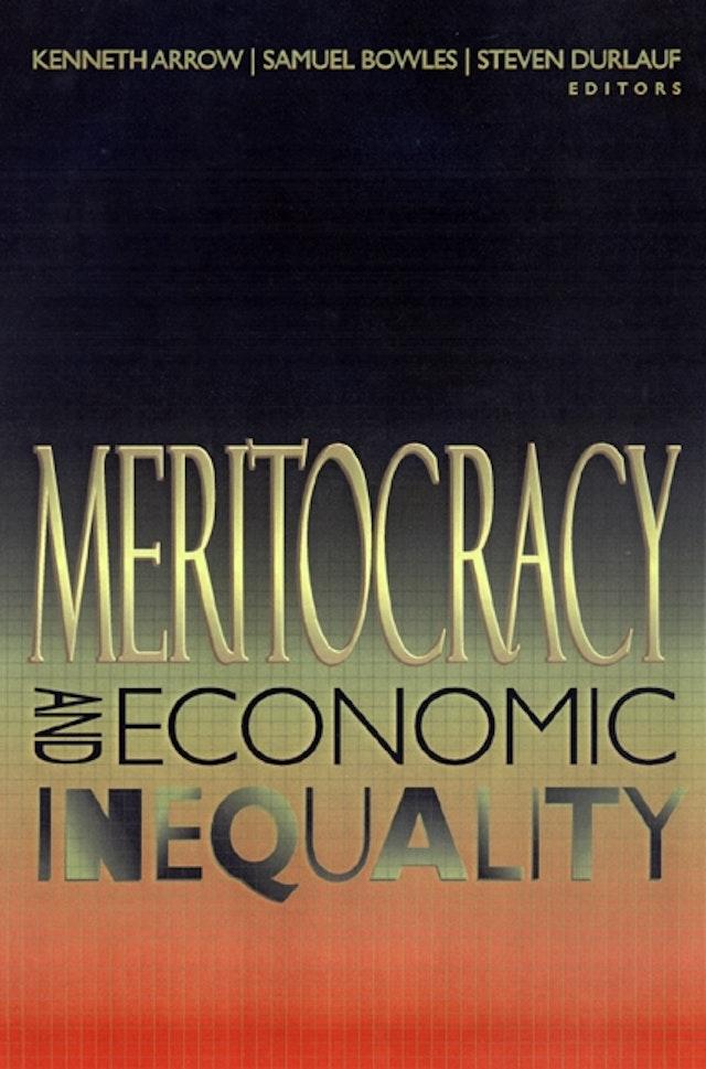 Meritocracy and Economic Inequality