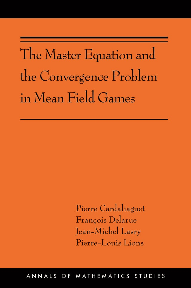 The Master Equation and the Convergence Problem in Mean Field Games