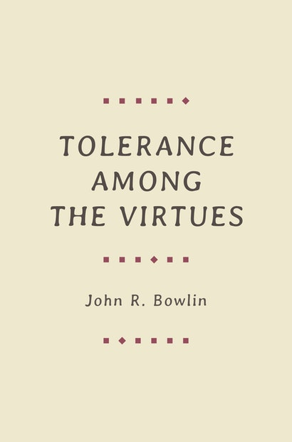 Tolerance among the Virtues