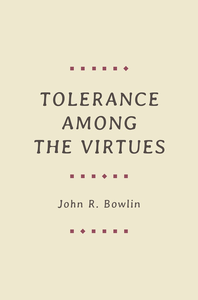 Tolerance among the Virtues
