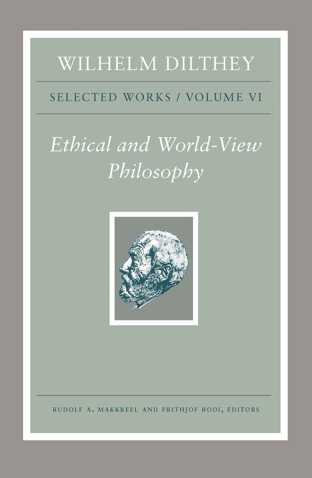 Wilhelm Dilthey: Selected Works, Volume VI