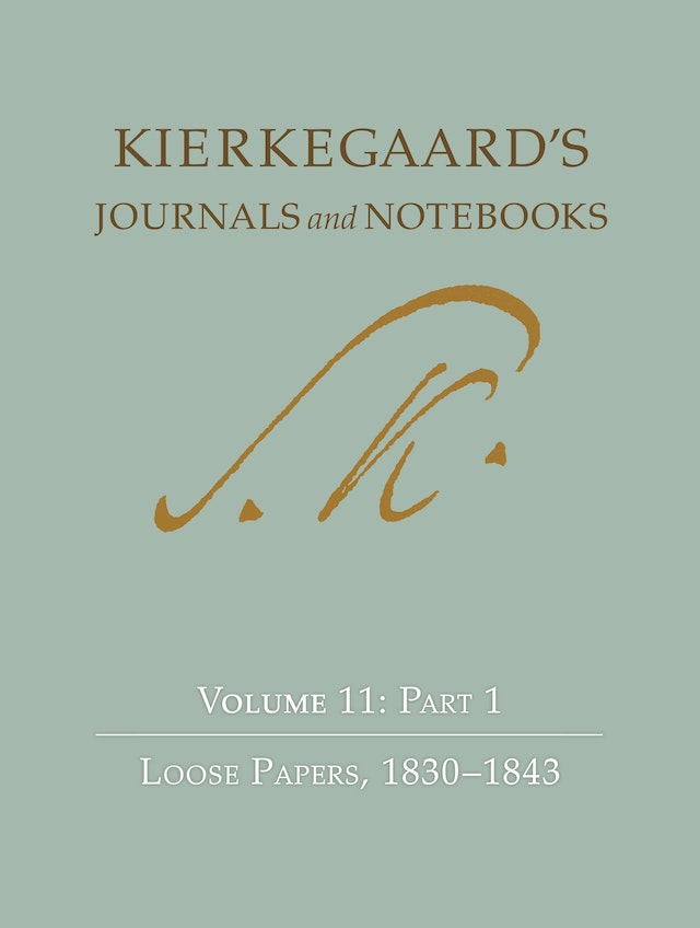 Kierkegaard's Journals and Notebooks, Volume 11, Part 2