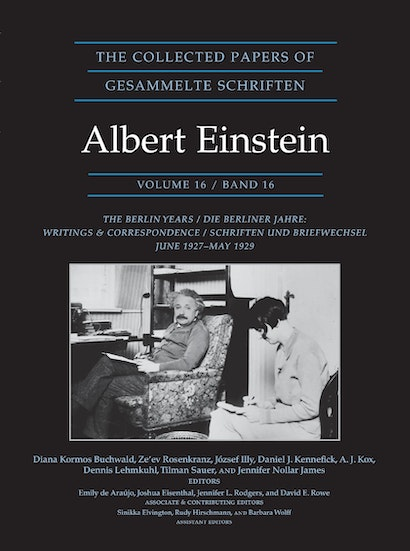 The Collected Papers of Albert Einstein, Volume 16 (Documentary Edition)