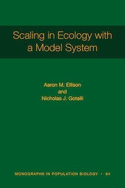Scaling in Ecology with a Model System