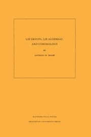 Lie Groups, Lie Algebras, and Cohomology. (MN-34), Volume 34