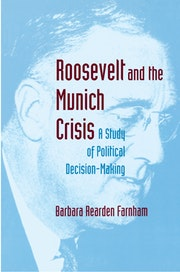 Roosevelt and the Munich Crisis