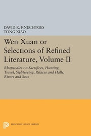 Wen Xuan or Selections of Refined Literature, Volume II