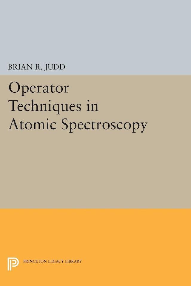 Operator Techniques in Atomic Spectroscopy