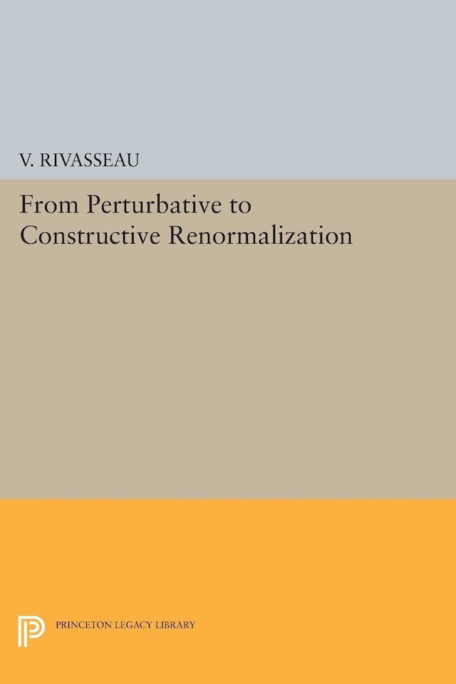 From Perturbative to Constructive Renormalization