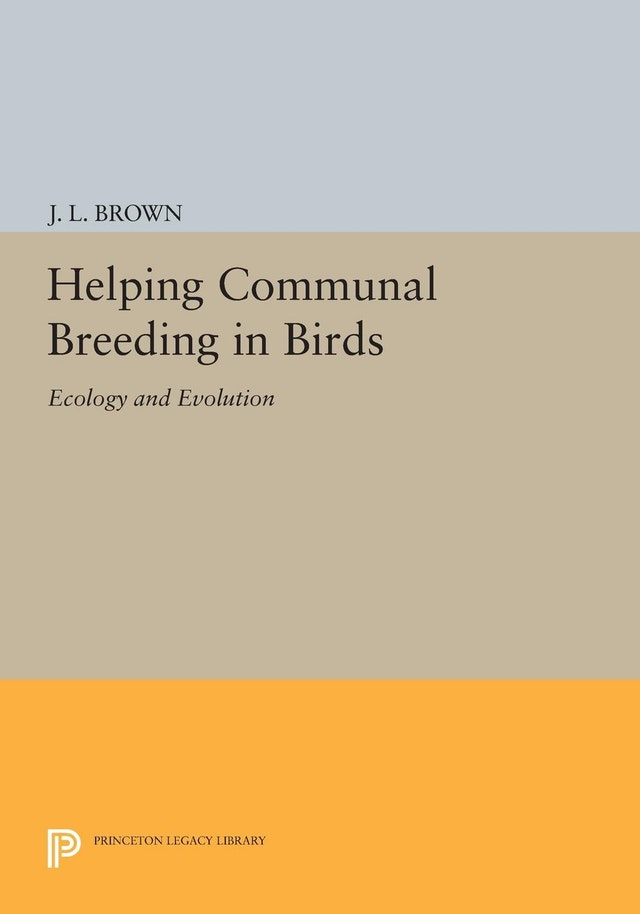 Helping Communal Breeding in Birds