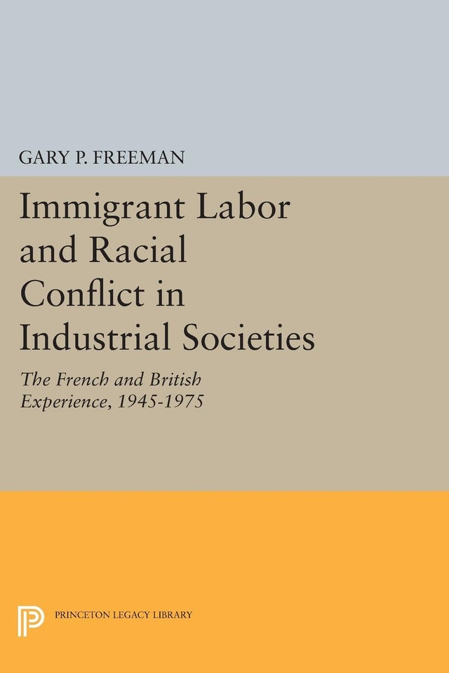 Immigrant Labor and Racial Conflict in Industrial Societies