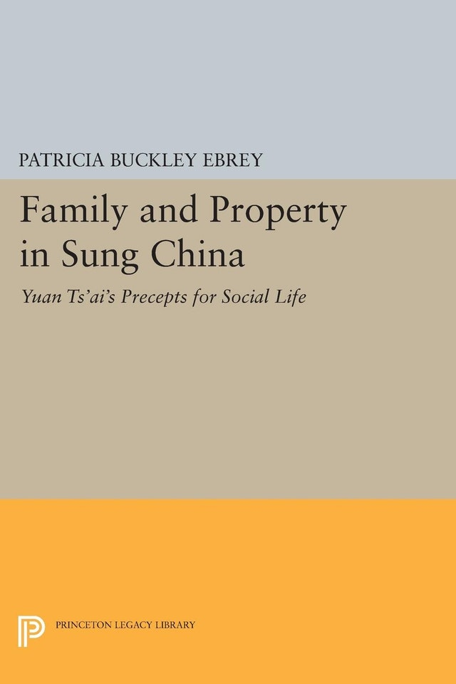 Family and Property in Sung China