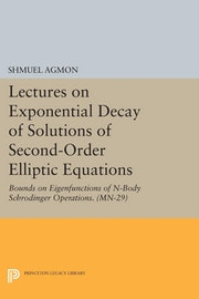 Lectures on Exponential Decay of Solutions of Second-Order Elliptic Equations