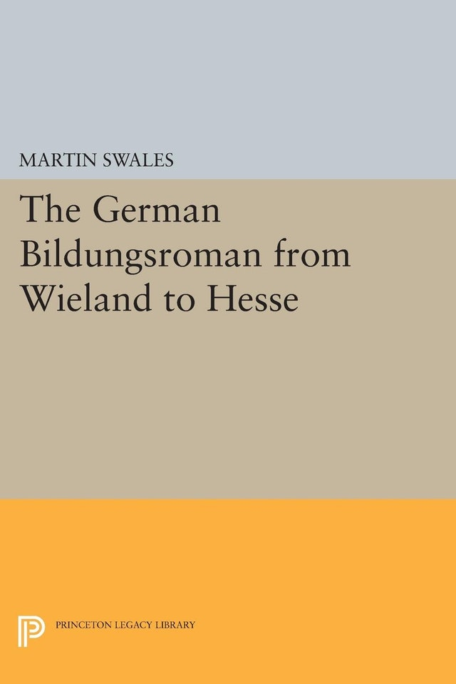 The German Bildungsroman from Wieland to Hesse