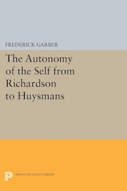 The Autonomy of the Self from Richardson to Huysmans
